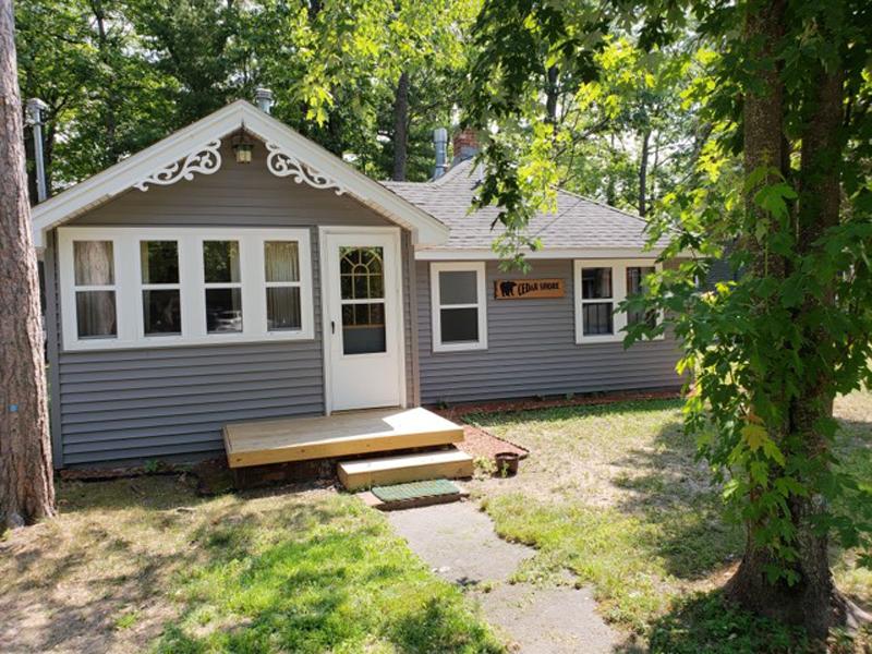 Higgins Lake Rental Cabin: Gray Lady